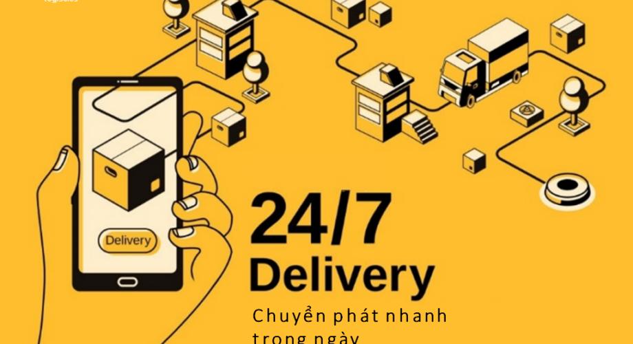 Dịch vụ chuyển phát nhanh trong ngày Nhất Tín Logistics