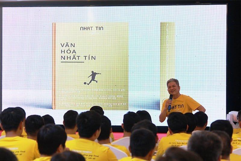Ông Nguyễn Công Cát - Chủ Tịch HĐQT chia sẻ về văn hóa doanh nghiệp