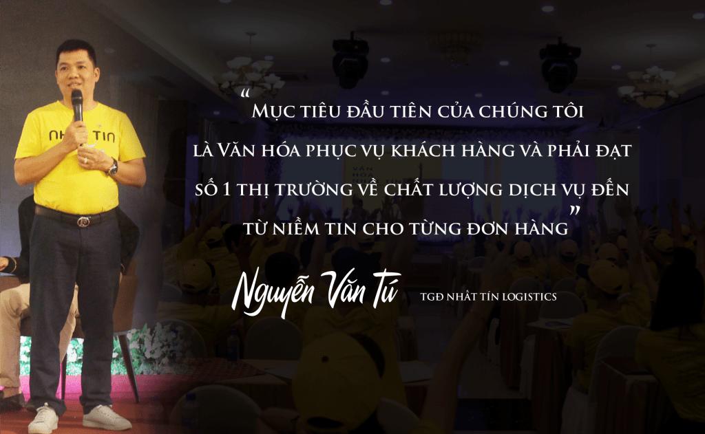 Ông Nguyễn Văn Tú - TGĐ Nhất Tín Logistics
