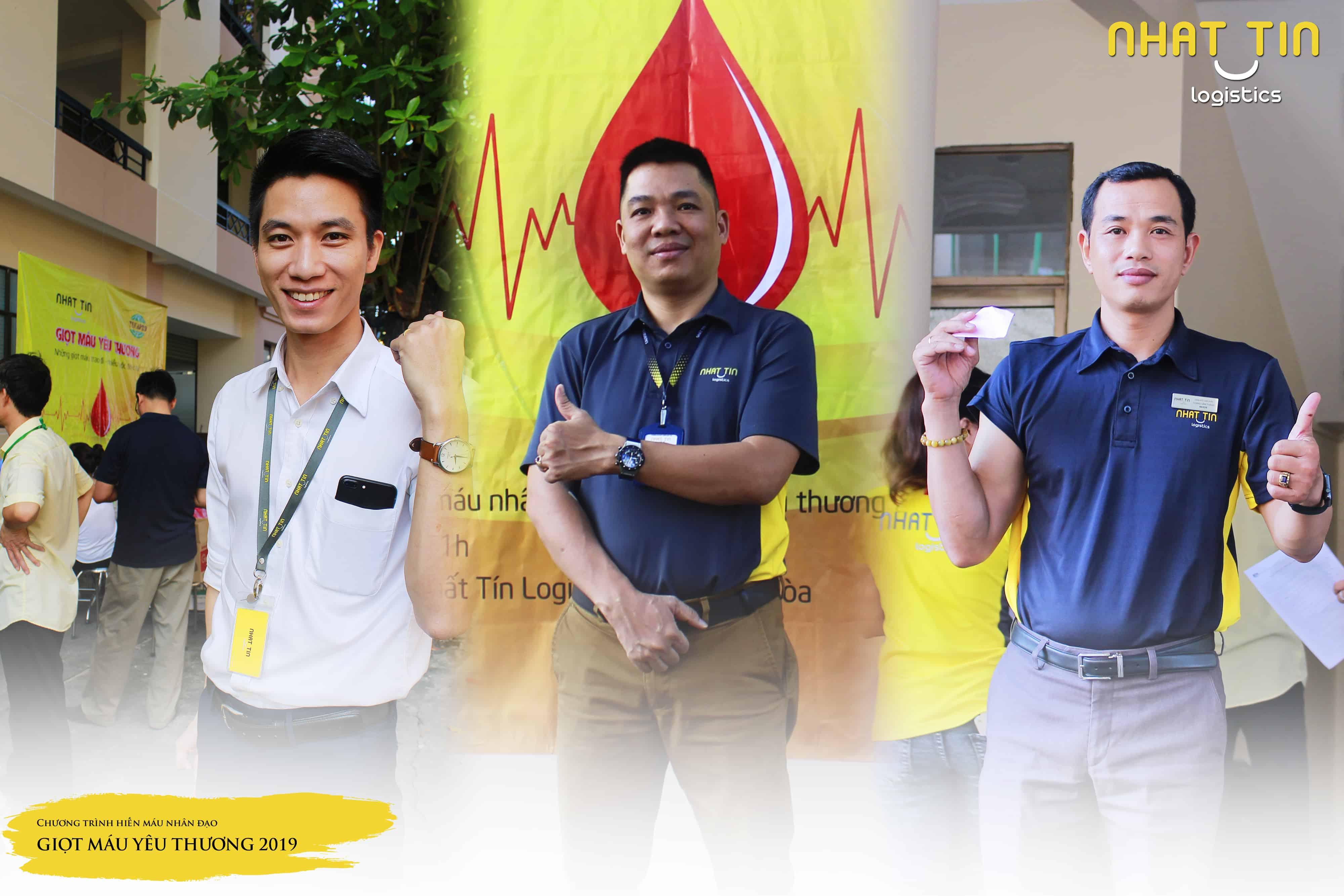 Nhất Tín phối hợp cùng Tecapro tổ chức hoạt động hiến máu nhân đạo – Giọt máu yêu thương 2019