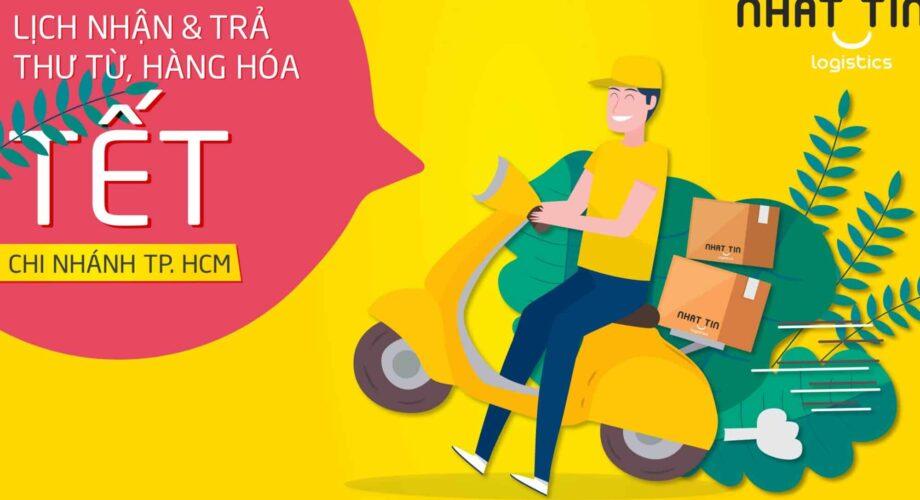 Thông báo lịch nhận và trả thư từ hàng hóa Tết Nguyên Đán 2020 – CN Hồ Chí Minh