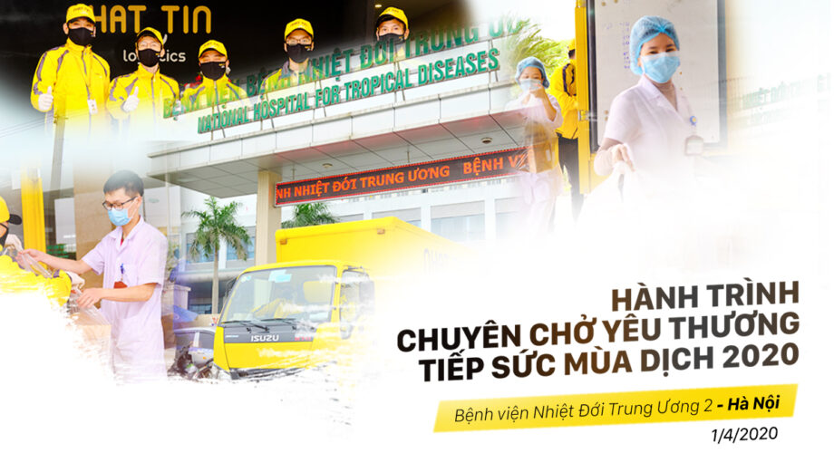 Hành Trình tiếp sức bệnh viện Nhiệt đới Trung Ương 2 – Đông Anh, Hà Nội