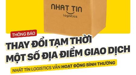 Thông báo Thay đổi tạm thời một số địa điểm giao dịch NTL tháng 8-2020
