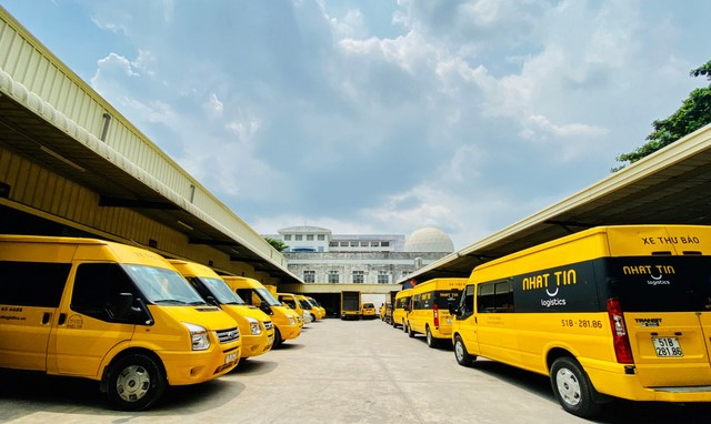 The delivery services at Nhat Tin Logistics