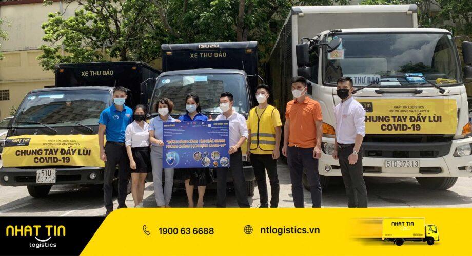 [Video] Nhất Tín Logistics: Đồng hành cùng tỉnh Bắc Giang và Bộ đội Biên phòng