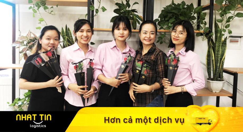Nhất Tín Logistics: Phụ nữ là để yêu thương